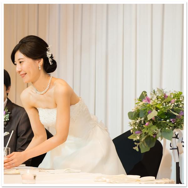 花嫁様お写真【ヘッドドレス【ホワイトフラワー】他】