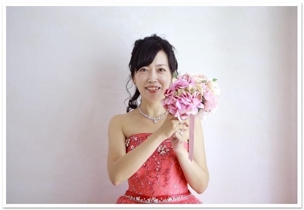 花嫁様お写真【ヘッドドレス【シルバーブーケ】/エレガントコームティアラ 他】
