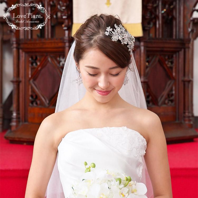 ヘッドドレス ウエディング ブライダル 結婚式