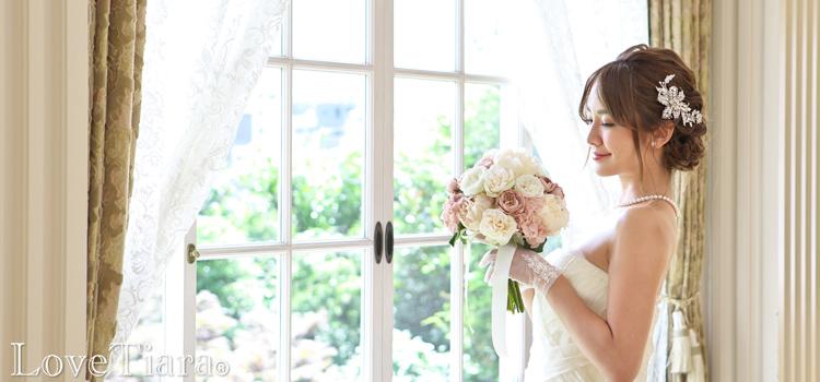 ヘッドドレス ビジュー ボンネ ハット 和装 ウエディング ブライダルアクセサリー 結婚式