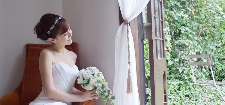 カチューシャ【リトルリーフ】・クリスタル