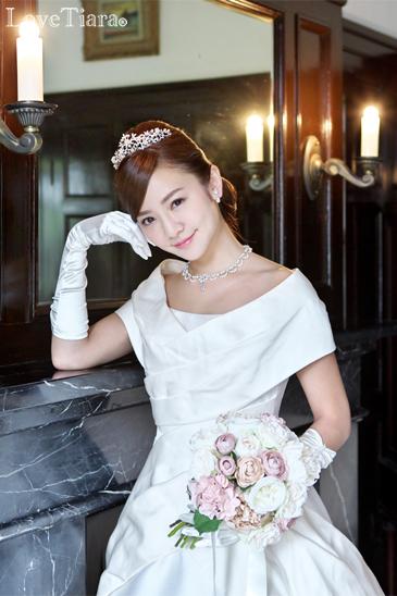着用イメージ ネックレス ウェディング 結婚式