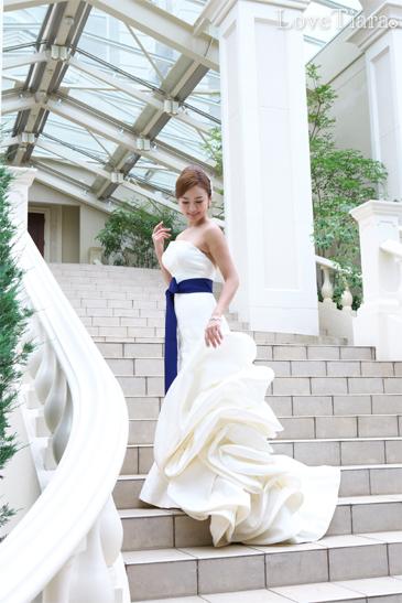 着用イメージ ブレスレット ビジュー ウェディング 結婚式