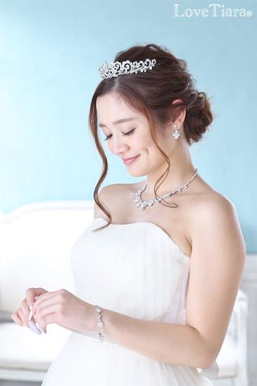 ブレスレット ビジュー ウェディング ブライダル 結婚式