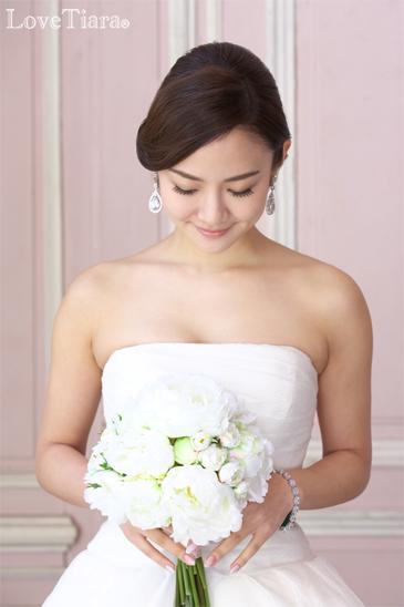 ビジュー イヤリング ピアス ウェディング ブライダル 結婚式