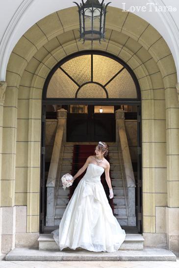 着用画像 ネックレス ウエディング 結婚式