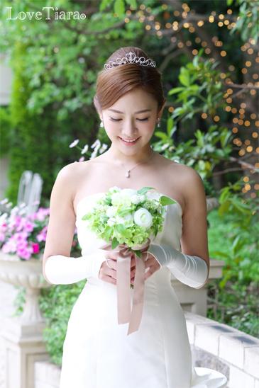 着用イメージ グローブ ウエディング 結婚式