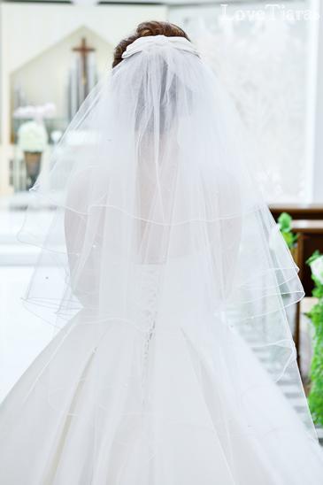 ベール ヴェール レイヤーベール レイヤーヴェール  ウエディング ブライダル 結婚式